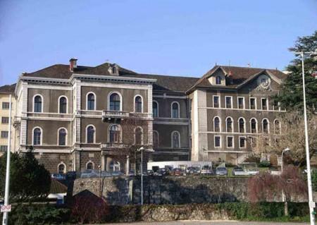 L'ancien hôpital d'Annecy