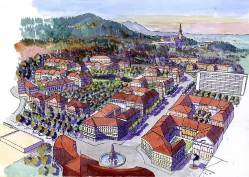 Annecy, urbanisme