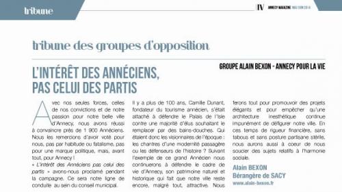 Annecy, Annecy Magazine