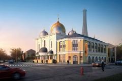 PARIS Cathédrale Orthodoxe de Paris Concours international – Projet 2010