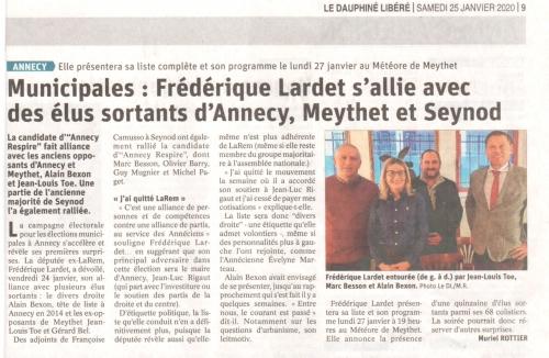 Annecy, élections municipales